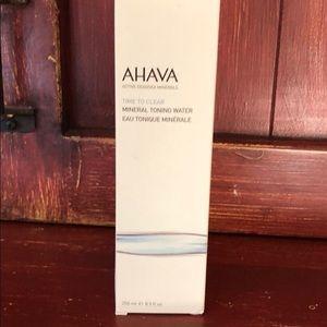 Ahava Mineral toner